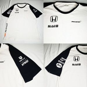 Honda Shirts - McLaren Honda F1 Team Alonso Shirt Tag Heuer Pirre